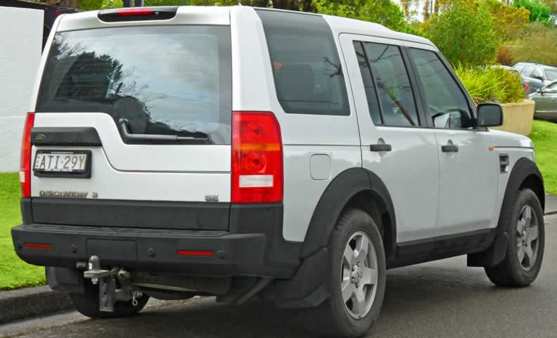 Land Rover Discovery 3 Parts