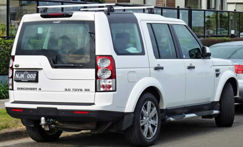 Land Rover Discovery 4 Parts